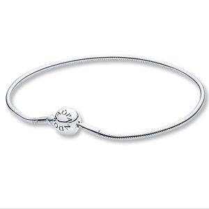 "Pandora Essence Bracelet 6.7"" with two charms"